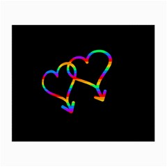 Love is love Small Glasses Cloth (2-Side)
