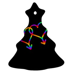 Love is love Christmas Tree Ornament (2 Sides)