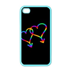 Love is love Apple iPhone 4 Case (Color)