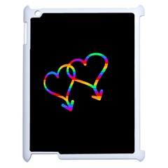 Love is love Apple iPad 2 Case (White)