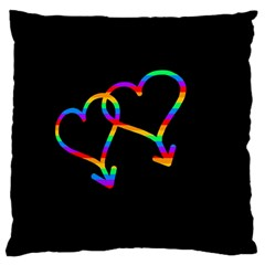 Love is love Large Cushion Case (Two Sides)