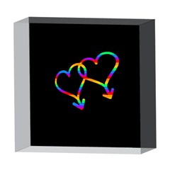 Love is love 5  x 5  Acrylic Photo Blocks