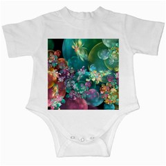Butterflies, Bubbles, And Flowers Infant Creepers