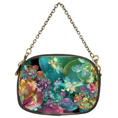 Butterflies, Bubbles, And Flowers Chain Purses (One Side)