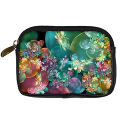 Butterflies, Bubbles, And Flowers Digital Camera Cases