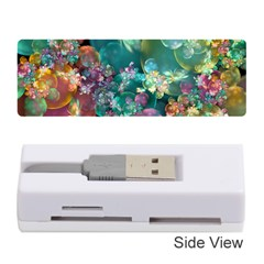 Butterflies, Bubbles, And Flowers Memory Card Reader (stick)