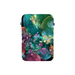 Butterflies, Bubbles, And Flowers Apple iPad Mini Protective Soft Cases