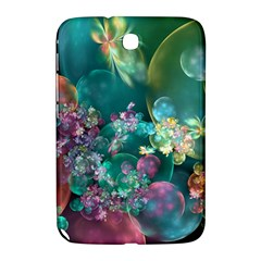 Butterflies, Bubbles, And Flowers Samsung Galaxy Note 8.0 N5100 Hardshell Case