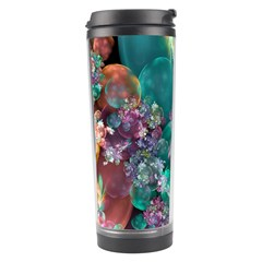 Butterflies, Bubbles, And Flowers Travel Tumbler