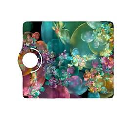 Butterflies, Bubbles, And Flowers Kindle Fire HDX 8.9  Flip 360 Case