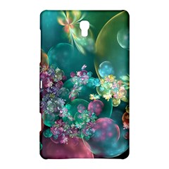 Butterflies, Bubbles, And Flowers Samsung Galaxy Tab S (8.4 ) Hardshell Case