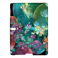 Butterflies, Bubbles, And Flowers Samsung Galaxy Tab S (10.5 ) Hardshell Case