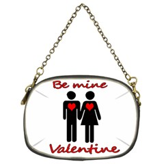 Be mine Valentine Chain Purses (Two Sides)