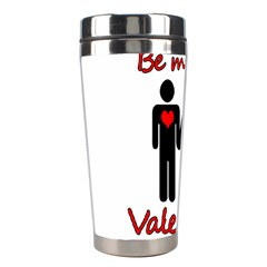Be mine Valentine Stainless Steel Travel Tumblers