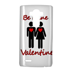 Be mine Valentine LG G4 Hardshell Case