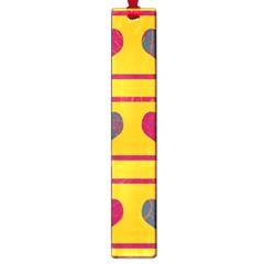 Decorative harts pattern Large Book Marks