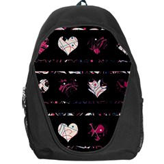 Elegant harts pattern Backpack Bag