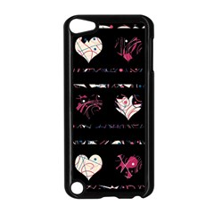 Elegant harts pattern Apple iPod Touch 5 Case (Black)