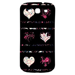 Elegant harts pattern Samsung Galaxy S3 S III Classic Hardshell Back Case