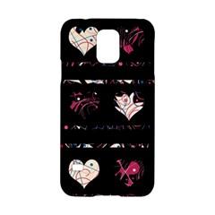 Elegant harts pattern Samsung Galaxy S5 Hardshell Case