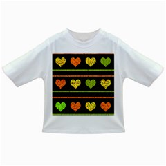 Colorful harts pattern Infant/Toddler T-Shirts
