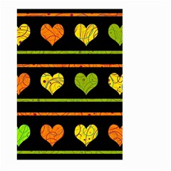 Colorful harts pattern Large Garden Flag (Two Sides)