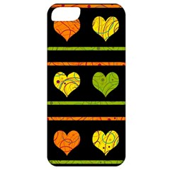 Colorful harts pattern Apple iPhone 5 Classic Hardshell Case