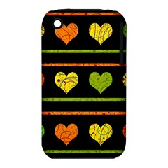 Colorful harts pattern iPhone 3S/3GS