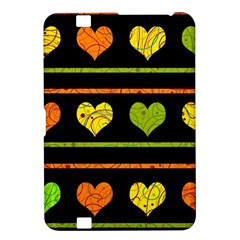 Colorful harts pattern Kindle Fire HD 8.9