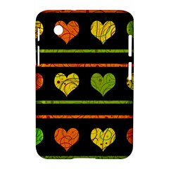 Colorful harts pattern Samsung Galaxy Tab 2 (7 ) P3100 Hardshell Case