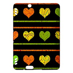 Colorful harts pattern Kindle Fire HDX Hardshell Case