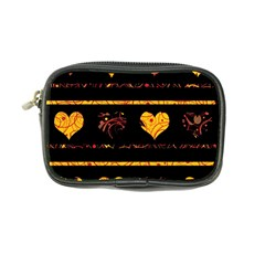 Yellow harts pattern Coin Purse