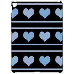 Blue Harts Pattern Apple Ipad Pro 12 9   Hardshell Case