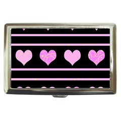 Pink harts pattern Cigarette Money Cases