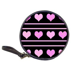 Pink harts pattern Classic 20-CD Wallets