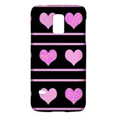 Pink harts pattern Galaxy S5 Mini