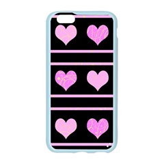 Pink harts pattern Apple Seamless iPhone 6/6S Case (Color)