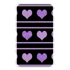 Purple harts pattern Memory Card Reader