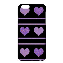 Purple harts pattern Apple iPhone 6 Plus/6S Plus Hardshell Case