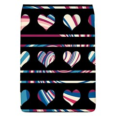 Colorful harts pattern Flap Covers (L)
