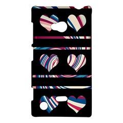 Colorful harts pattern Nokia Lumia 720