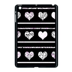 Elegant harts pattern Apple iPad Mini Case (Black)
