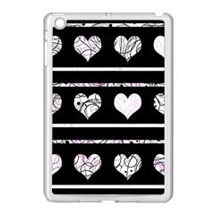Elegant harts pattern Apple iPad Mini Case (White)