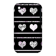 Elegant harts pattern iPhone 3S/3GS