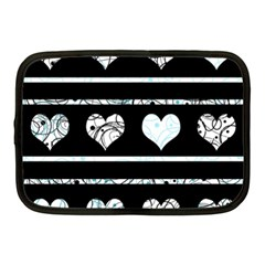 Elegant harts pattern Netbook Case (Medium)