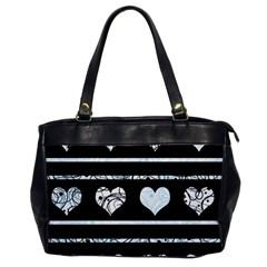 Elegant harts pattern Office Handbags