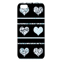 Elegant harts pattern Apple iPhone 5 Premium Hardshell Case
