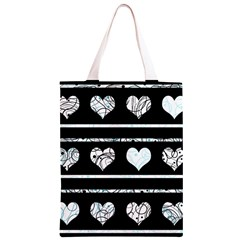 Elegant harts pattern Classic Light Tote Bag