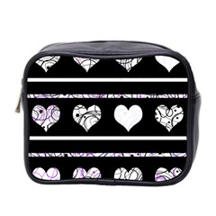 Elegant harts pattern Mini Toiletries Bag 2-Side