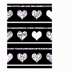 Elegant harts pattern Small Garden Flag (Two Sides)